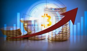 Bitcoin increases in price