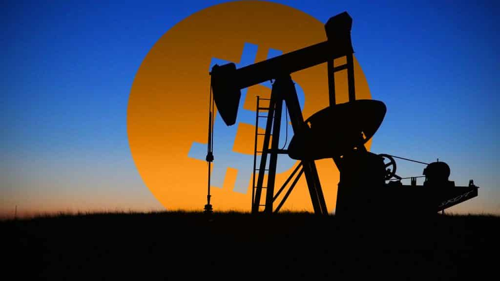 How does oil affect Bitcoin?