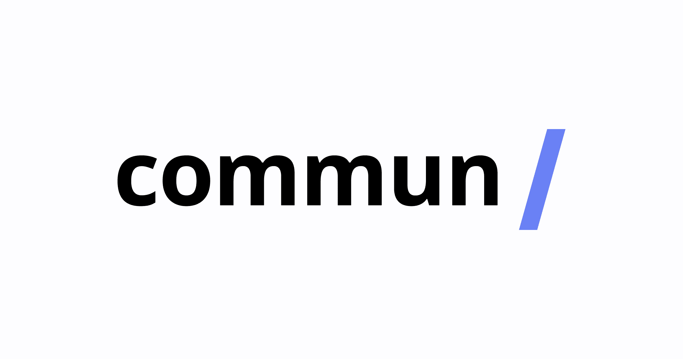 The Commun is closing. Details of the project